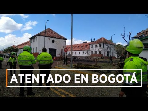 Último minuto: Carro bomba en la Escuela General Santander en Bogotá