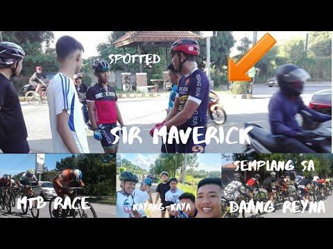 DAANG REYNA, SHORT RIDE, WATCH RACE AND MEET SIR MAVERICK RIDE 1 |Kael's Vlog 25| KayangkayaRide