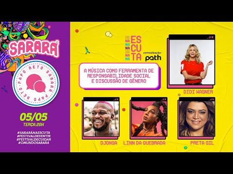 Papo Reto Sarará: A música como ferramenta de responsabilidade social e discussão de gênero