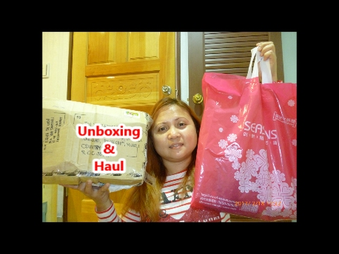 UNBOXING PACKAGES FROM SINGAPORE & HAUL (FEB 21 2017)