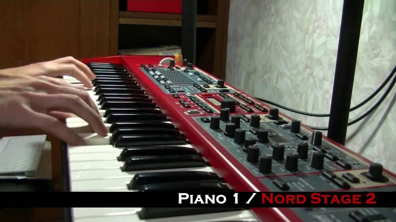 piano sounds korg v s yamaha v s roland v s nord doovi. Black Bedroom Furniture Sets. Home Design Ideas