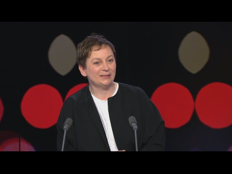 Booker Prize winner Anne Enright: