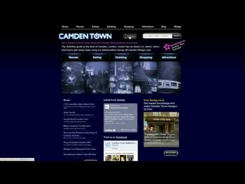 "CTU's guide to the ""Turning Camden On"" website"