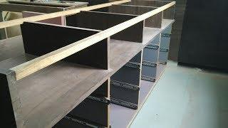 Gambar cover Glass Counter कैसे बनाये आसानी सेCosmetic, mobile, jewellery shop ke liye!How make counter for shop