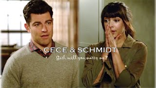 Cece & Schmidt | Girl, will you marry me? [4x22]