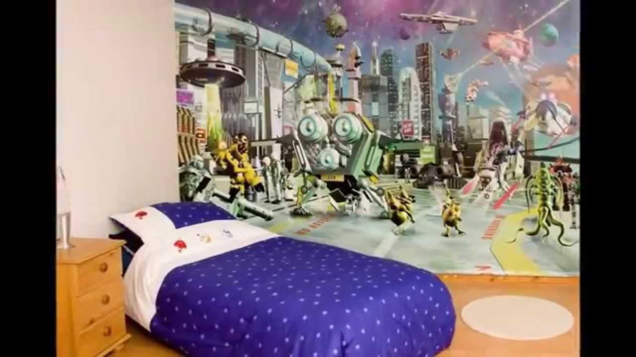 Kumpulan Gambar Wallpaper Kamar Tidur Anak YouTube