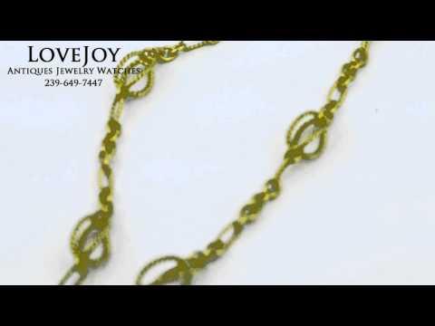 David Yurman Authentic 18k Necklace