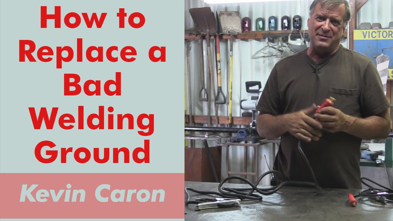 How to Replace a Bad Ground Cable on Your Welder - Kevin Caron - YouTube