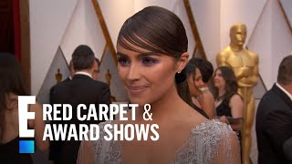 Olivia Culpo Stuns in Gown Made of Crystals at 2017 Oscars | E! Live from the Red Carpet