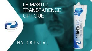 Collage mastic transparence optique - colle industrielle