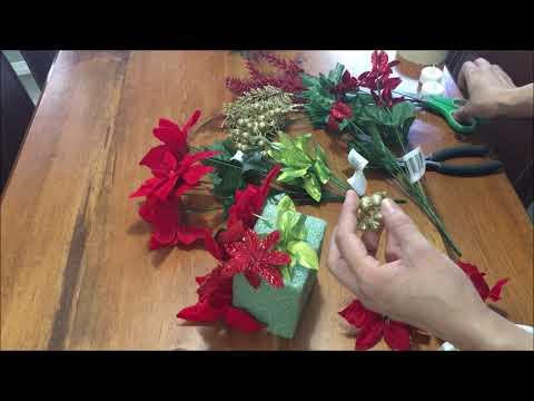Centro de mesa navideño Diy 🎄⛄🎄⛄