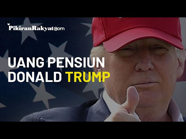 Angkat Kaki dari Gedung Putih setelah Kalah, Donald Trump Dapat Uang Pensiun Rp3 Miliar per Tahun
