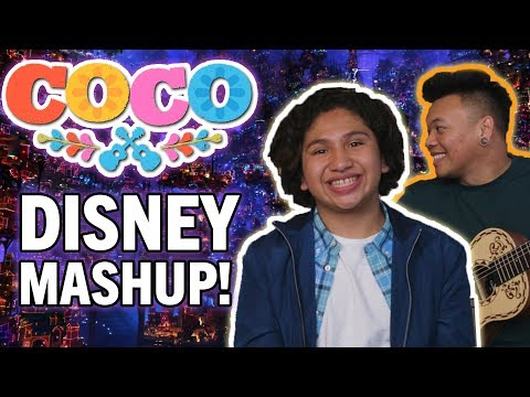 Un Poco Loco DISNEY MASHUP with Anthony Gonzalez, Miguel in Coco!