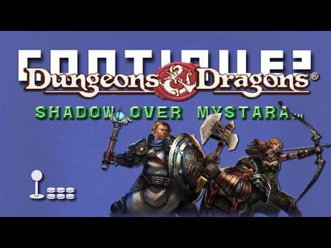 Dungeons & Dragons: Shadow Over Mystara (Arcade) - Continue?