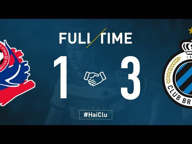HAPOEL HAIFA - CLUB BRUGGE   Matchverslag   Oefenwedstrijd    2018-2019