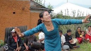 पानि आयो चार दिशा घेरेर..कहा बसेर रुम धोका फेरेर  || Panche baja dance by women gulmi kurgha