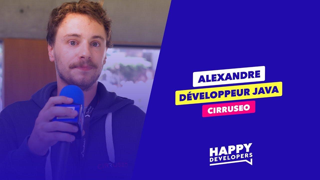 Happy Developers - DevFest Toulouse - Alexandre de Cirruseo