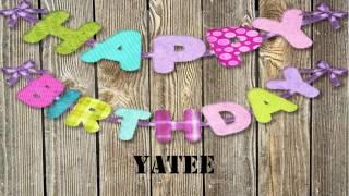 Yatee   Birthday Wishes
