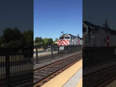 Caltrain in Palo Alto 4