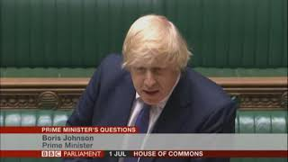 PMQs but they just say 'jobs'