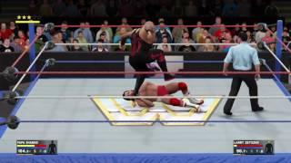 WWE 2K17 Papa Shongo VS Larry Zabysco