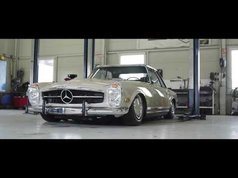 WCP- Mercedes Benz Airride  W113 Pagode Oldtimer Luftfahrwerk
