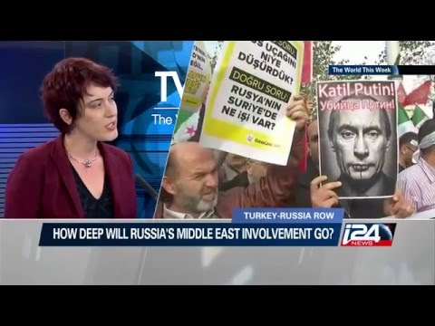 I24 interview with Barak Seener and Paula Slier on Russia-Turkey tensions in Syria