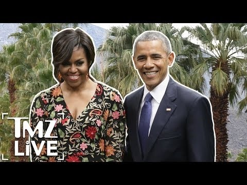 The Obama's Are Heading To Palm Springs! I TMZ Live
