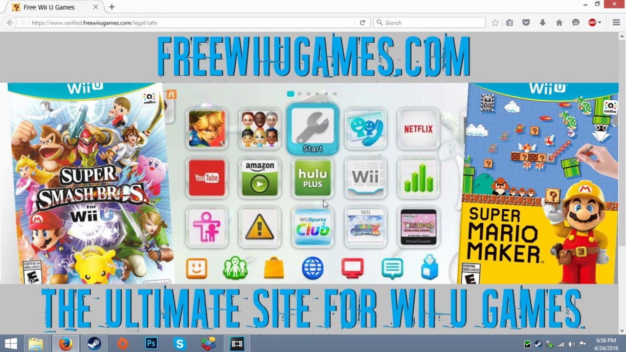 How To Get Free Wii U Games Virus Free Youtube