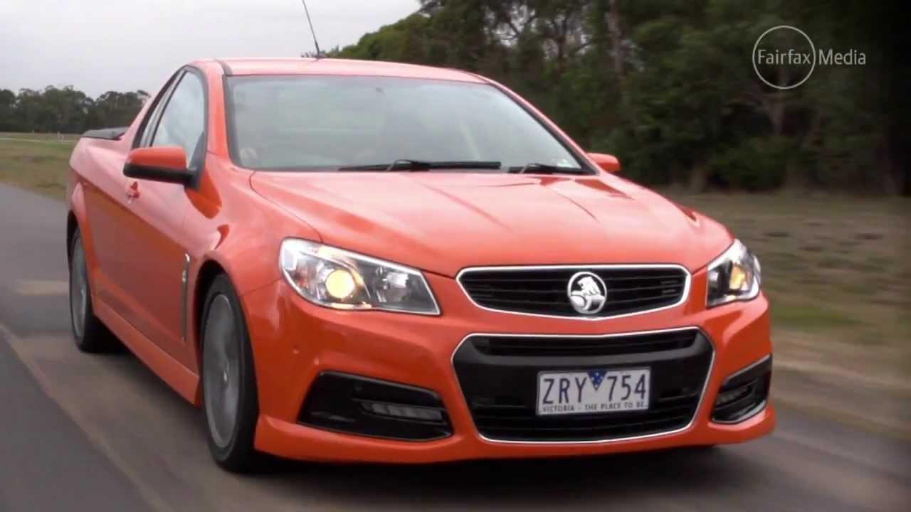 Holden vf commodore sv6 2013 ute drive youtube vanachro Choice Image
