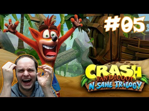 I Hate Bees... And Ice! - Crash Bandicoot N. Sane Trilogy [Cortex Strikes Back] Gameplay #05