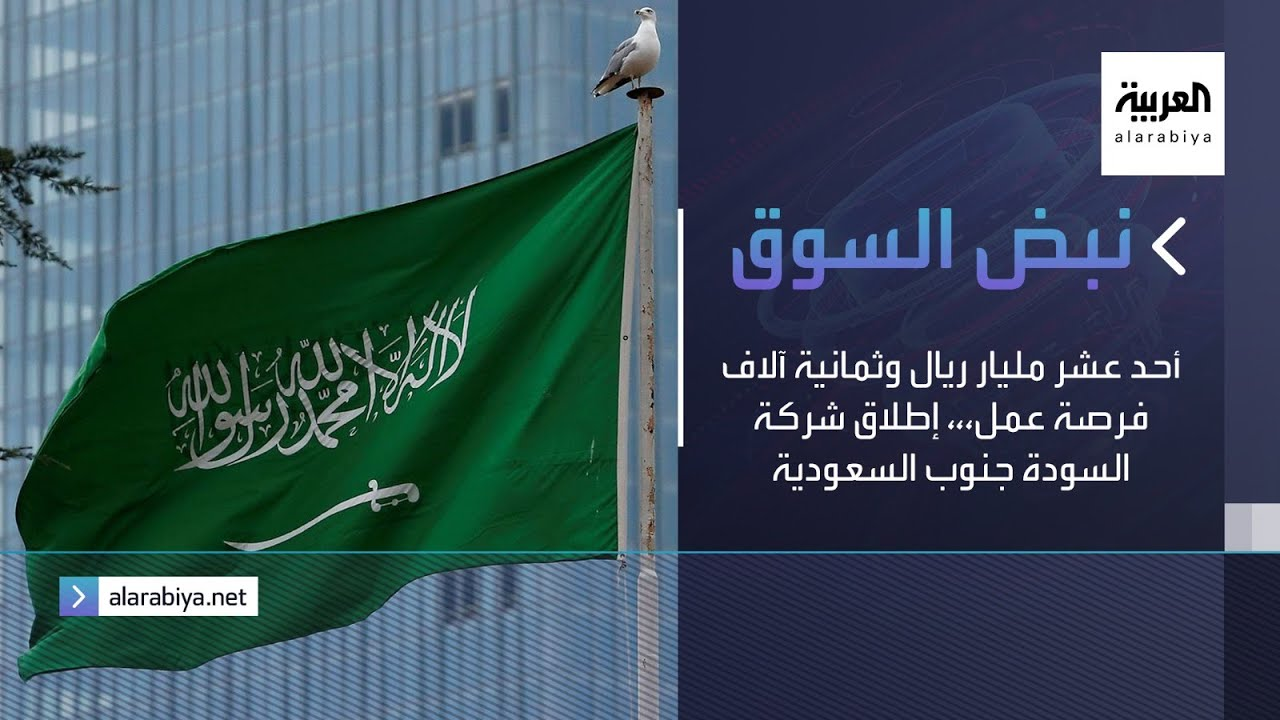 نبض السوق | أحد عشر مليار ريال وثمانية آلاف فرصة عمل،،، إطلاق شركة السودة جنوب السعودية  - 09:59-2021 / 2 / 25