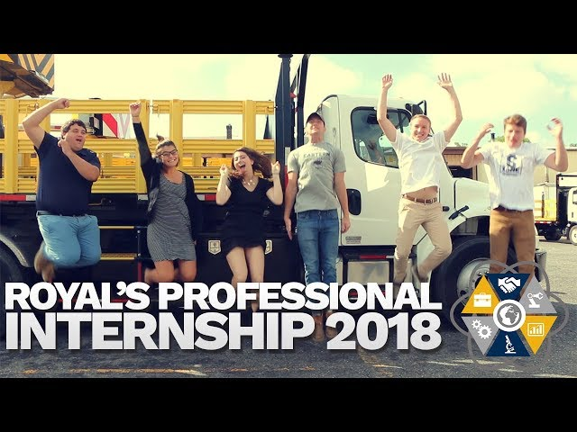 Royal's Professional Internship 2018
