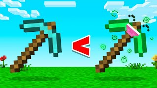 Making A JELLY PICKAXE & Its STRONGER Than DIAMOND! (Minecraft)