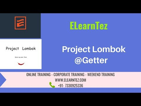 Project Lombok @Getter