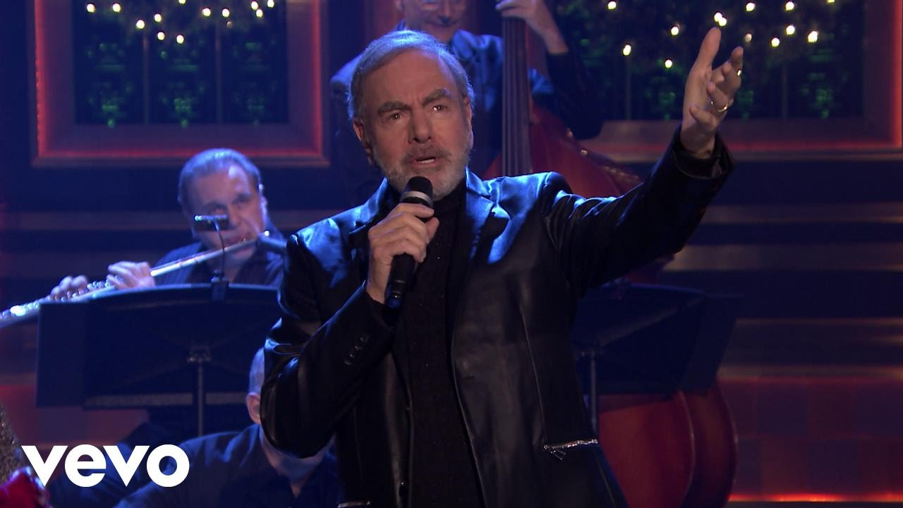 Neil Diamond - Christmas Medley (Live on The Tonight Show Starring ...