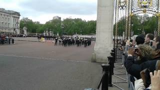 Band of the brigade of Gurkhas, changing of the guard part 2