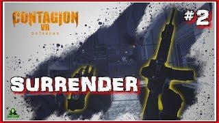 I SURRENDER !!! Contagion VR - FINAL Part (GOOD Ending)
