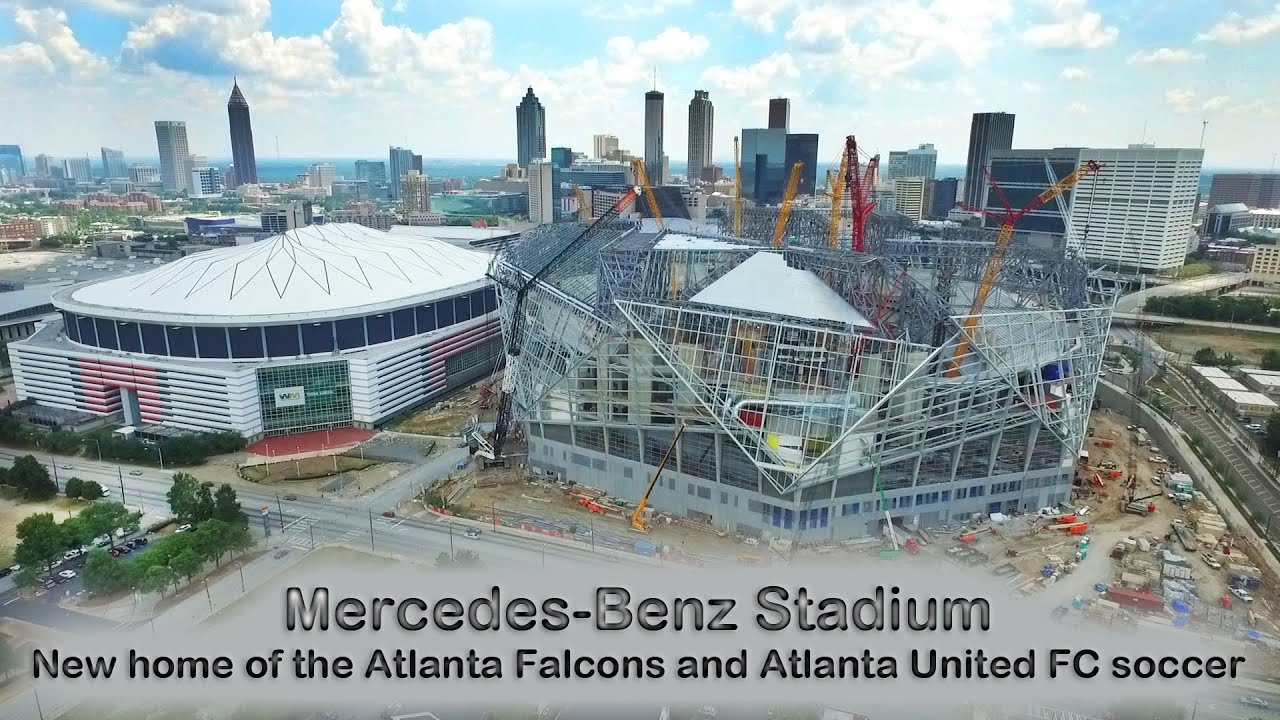 Mercedes benz stadium new home of the atlanta falcons for Atlanta ga mercedes benz stadium