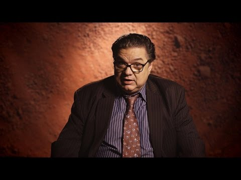 Oliver Platt tells the story of a store owner, now a refugee