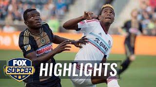 Philadelphia Union vs. Chicago Fire - 2015 MLS Highlights