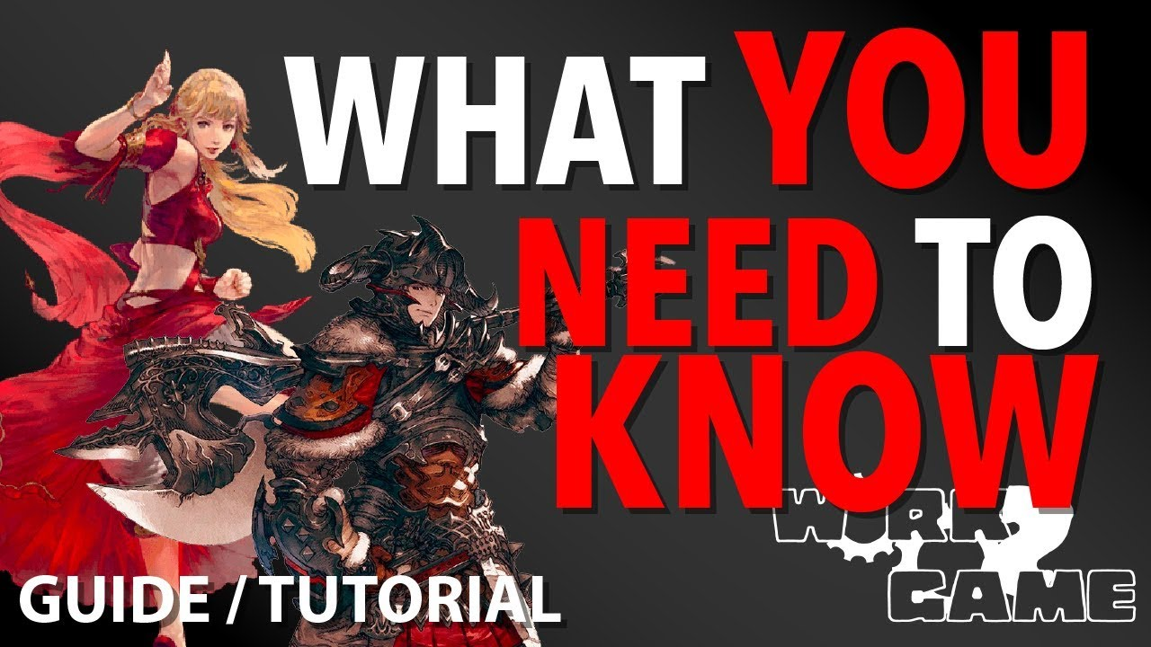 FFXIV Terms and things you NEED to know! [New Player Guide]
