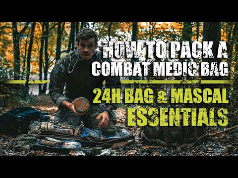 24h Bag & MASCAL Essentials | How to Pack a Combat Medic Bag