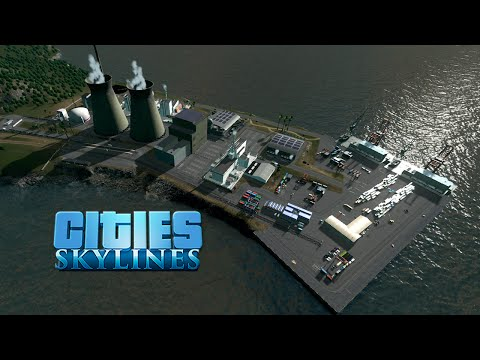 Cities Skylines :: Isla Bonita 01 :: NUCLEAR POWER PLANT