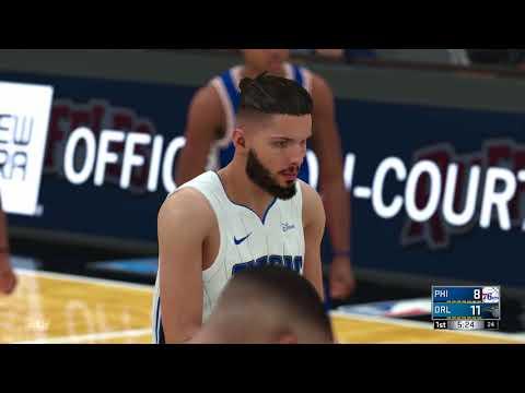 NBA 2K18 Philadelphia 76ers vs Orlando Magic