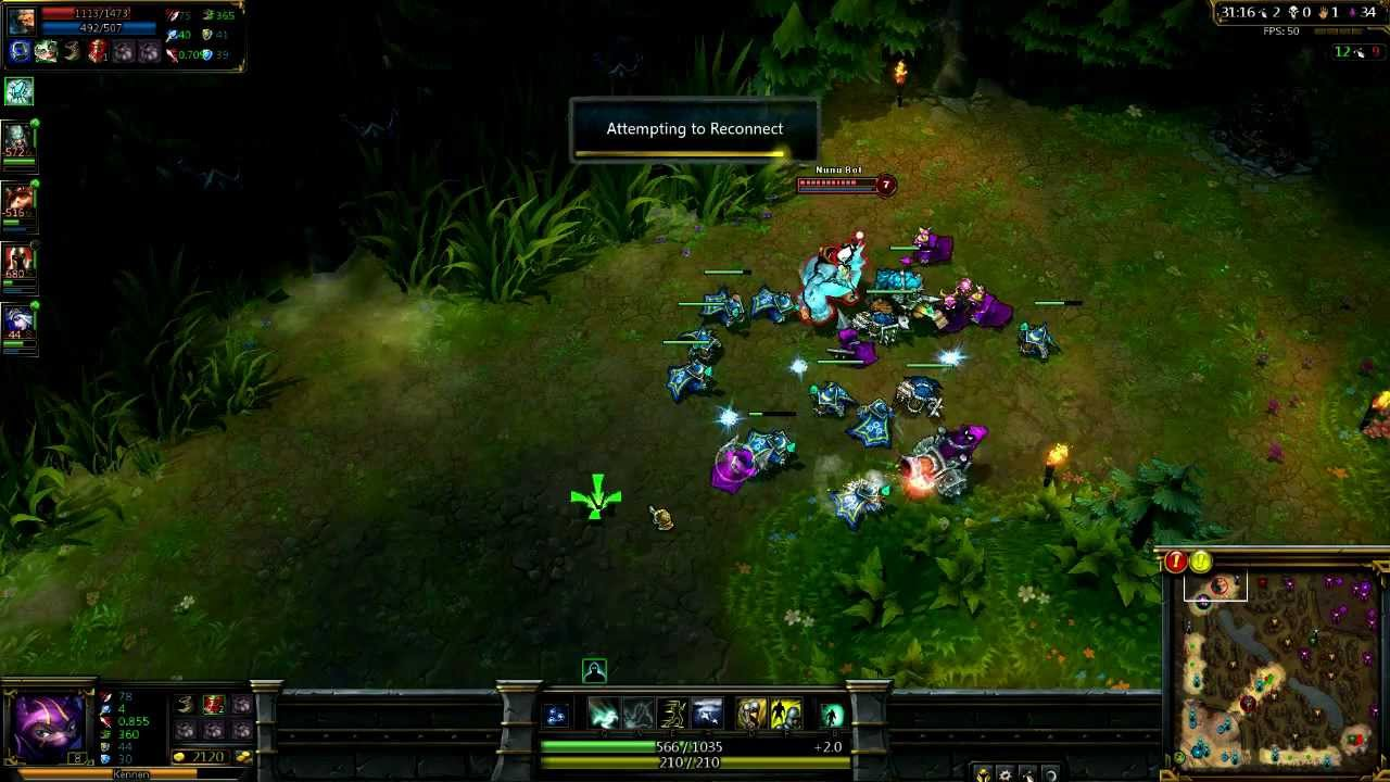 How to manually reconnect chat in lol
