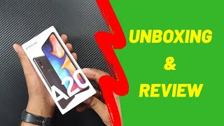 Samsung Galaxy A20 Unboxing & Review | Speed Test | Camera Samples | Features | Hindi