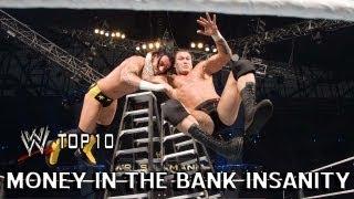 Money in the Bank Insanity - WWE Top 10