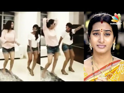 Actress Surekha Vani and her daughter hot dance goes viral || Tamil Cinema News thumbnail