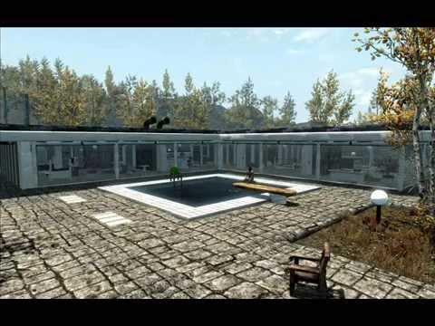 Skyrim mod Modern Safehouse by DavideMitra YouTube